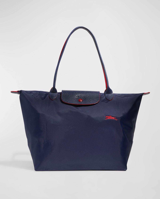 Le Pliage Club Large Nylon Shoulder Tote Bag