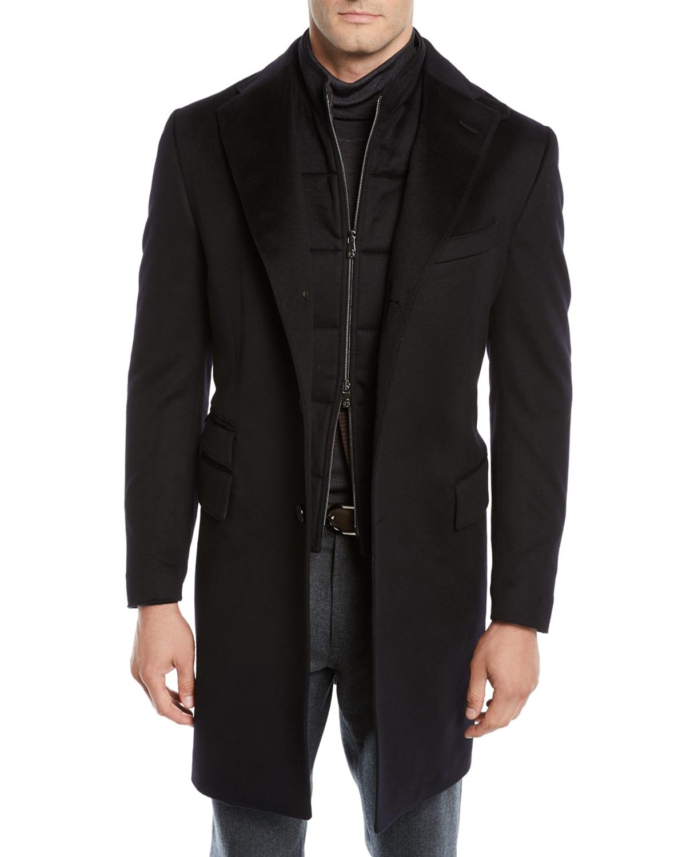 Men's ID Wool Top Coat
