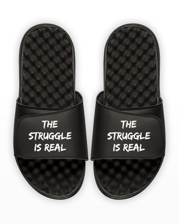 Men's The Struggle Is Real Slide Sandals