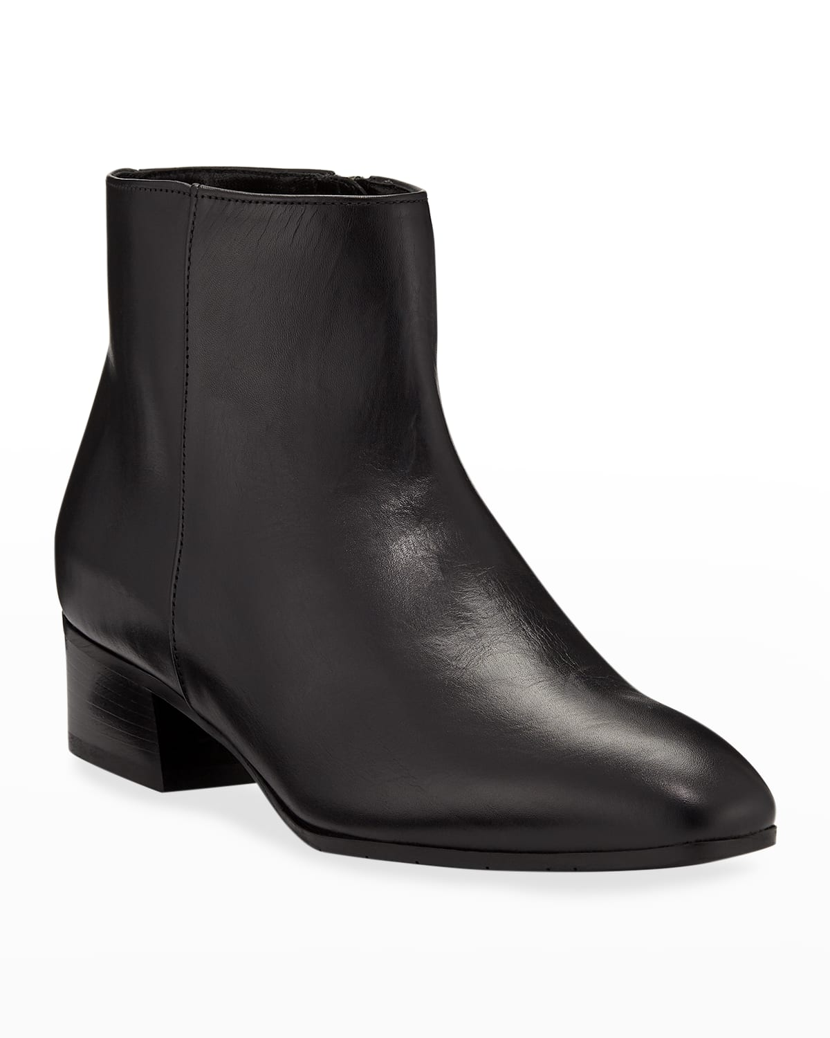 Fuoco Leather Ankle Boots