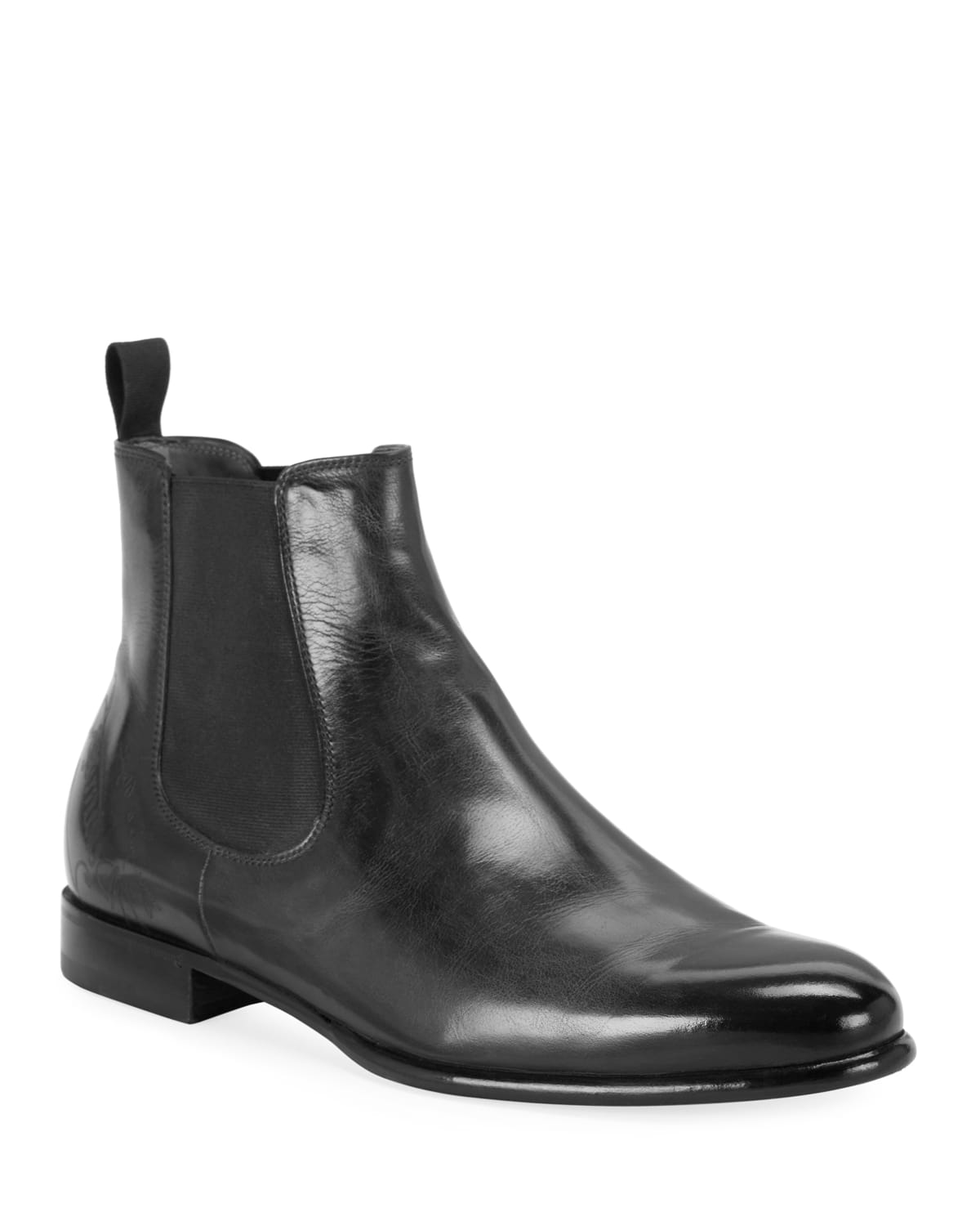 Men's Scritto Leather Chelsea Boots