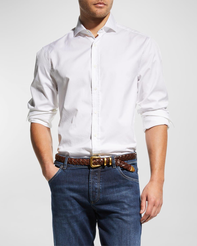 Men's Jersey Knit Sport Shirt