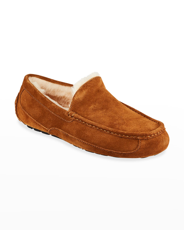 Men's Ascot Suede Slippers