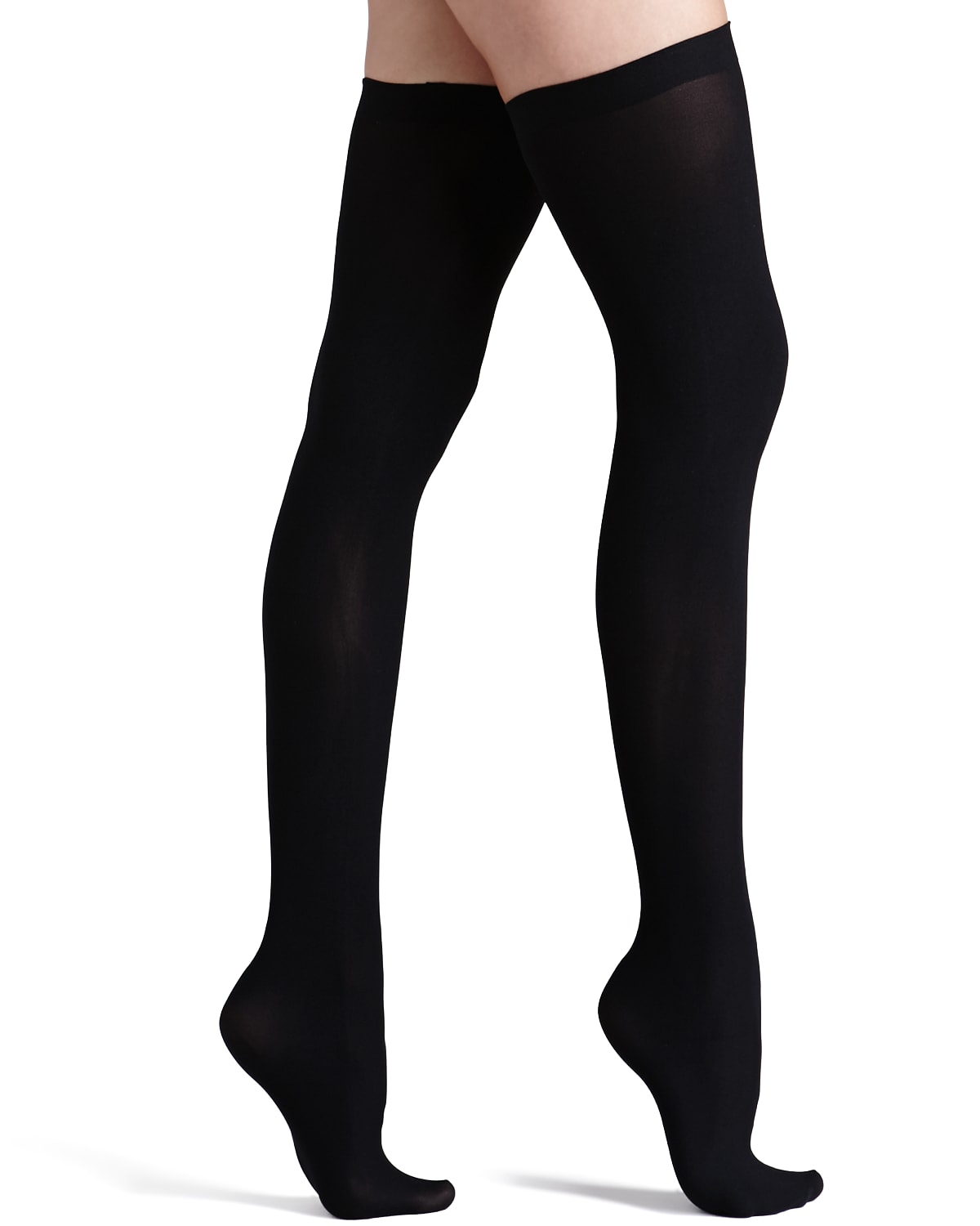 Up All Night Opaque Thigh Highs