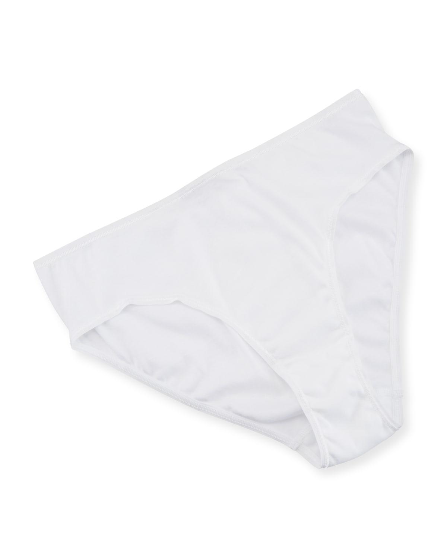 Cotton Seamless High-Leg Briefs