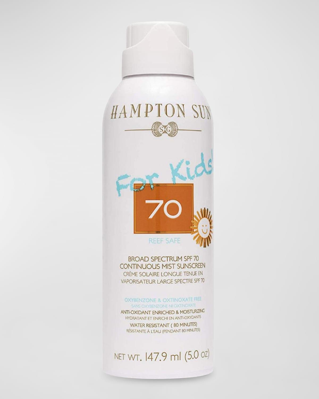 5 oz. SPF 70 For Kids! Continuous Mist