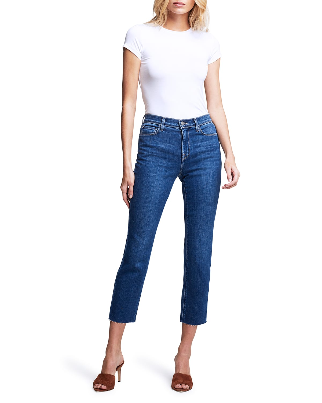 Sada Cropped Slim Jeans