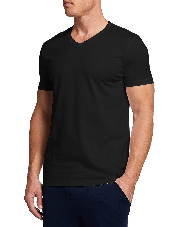 Men's V-Neck Three-Pack T-Shirts