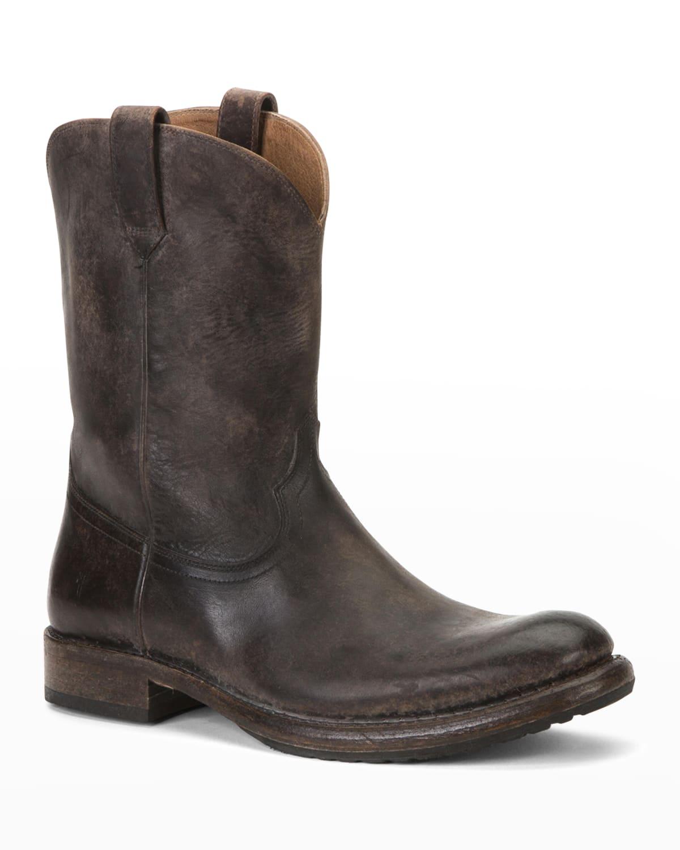 Men's Duke Roper Western Leather Boots