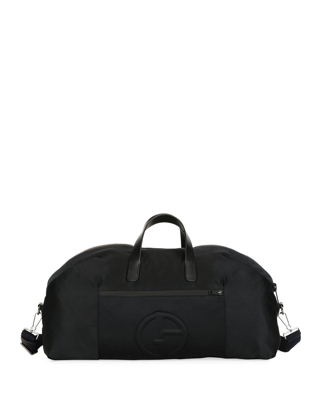 Men's Nylon Carryall Duffel Bag