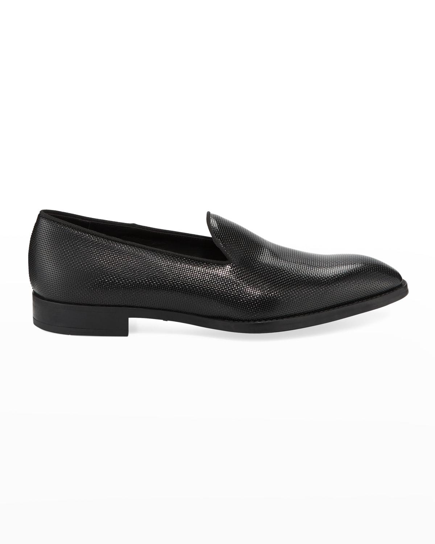Men's Pebble Textured Formal Loafer