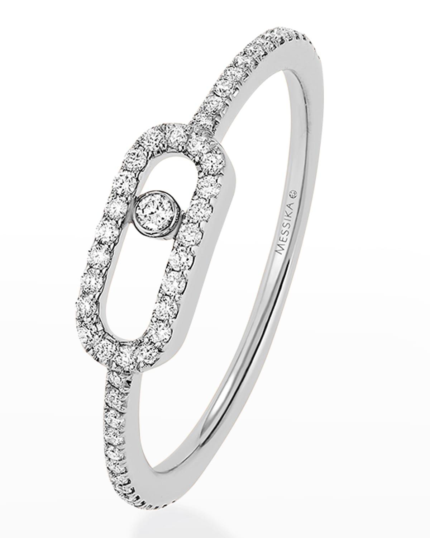 Move Uno 18k White Gold Ring