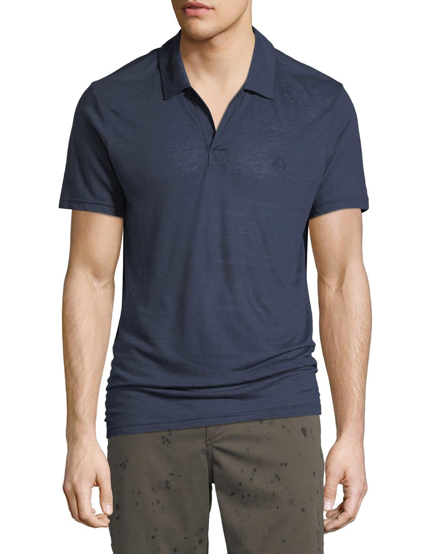 Men's Pyramid Linen Polo Shirt