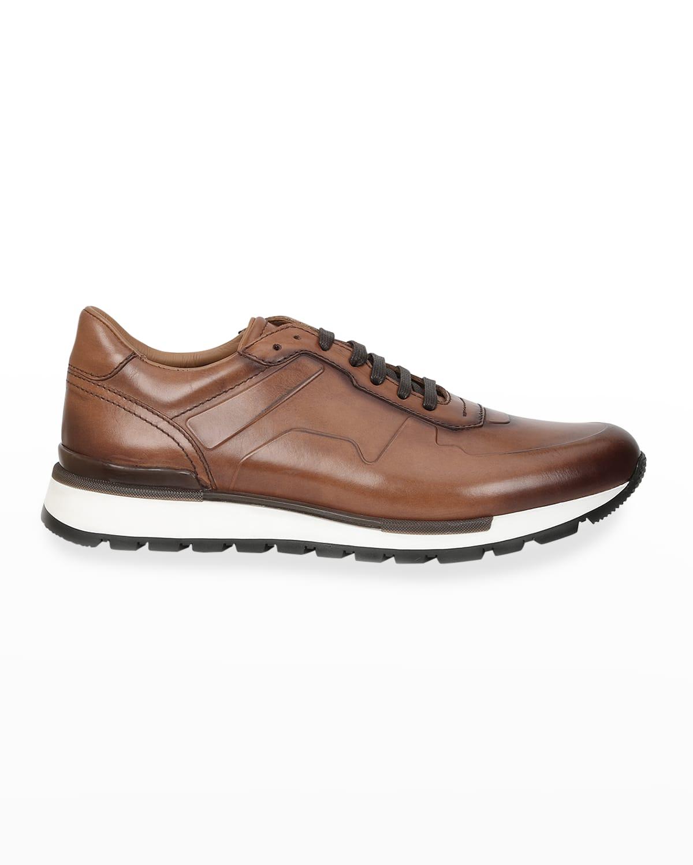 Men's Davio Leather Sneakers