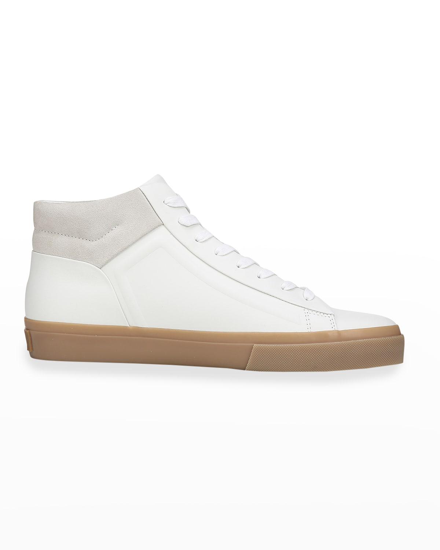 Men's Fynn Glove Leather & Suede Mid-Top Sneakers