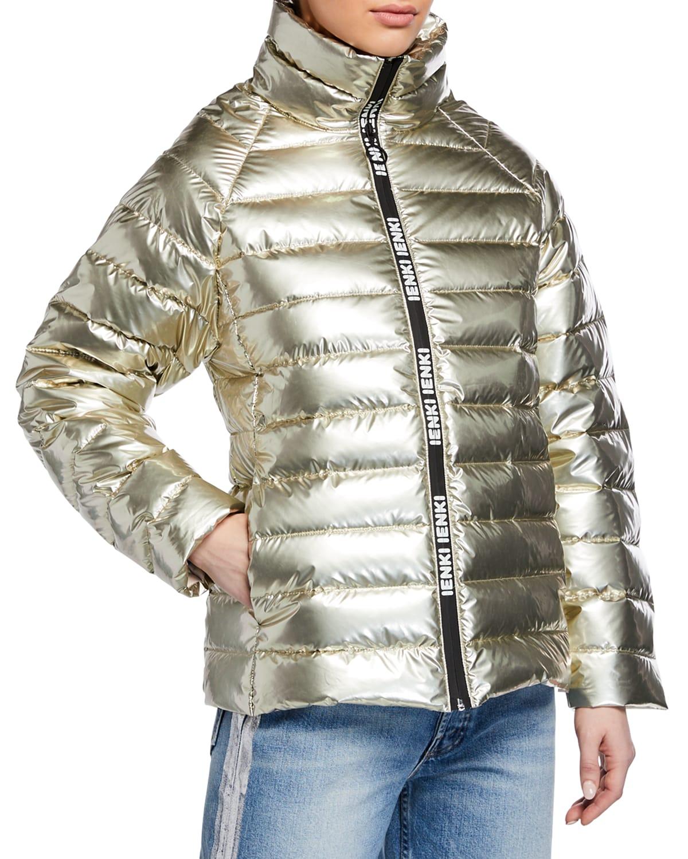 Anon Metallic Puffer Jacket