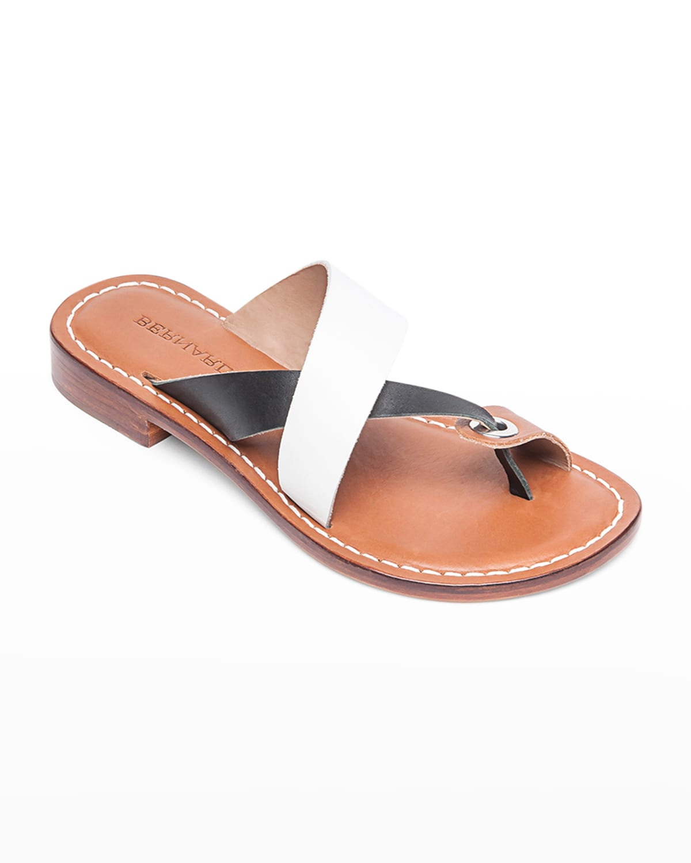 Tia Flat Slide Sandals