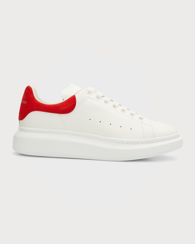 Men's Oversized Leather Low-Top Sneakers