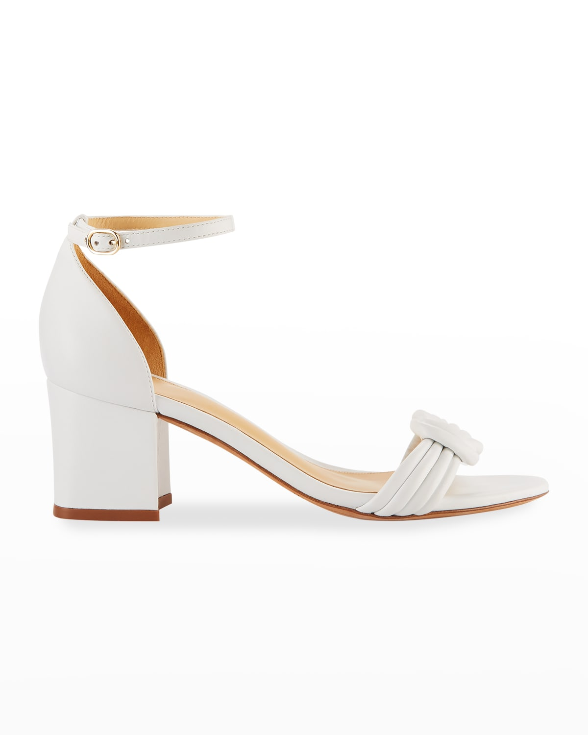 Vicky Knot Leather Sandals