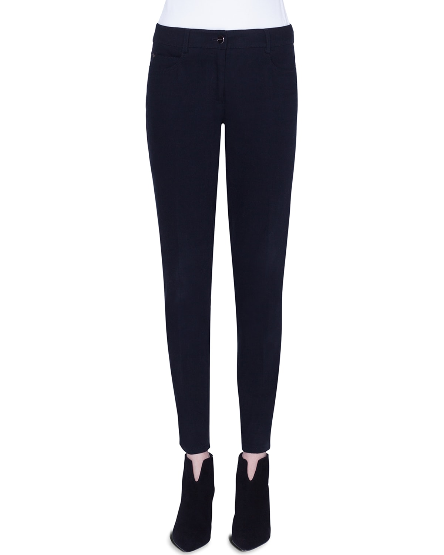 Magda Slim-Leg Stretch Denim Jeans