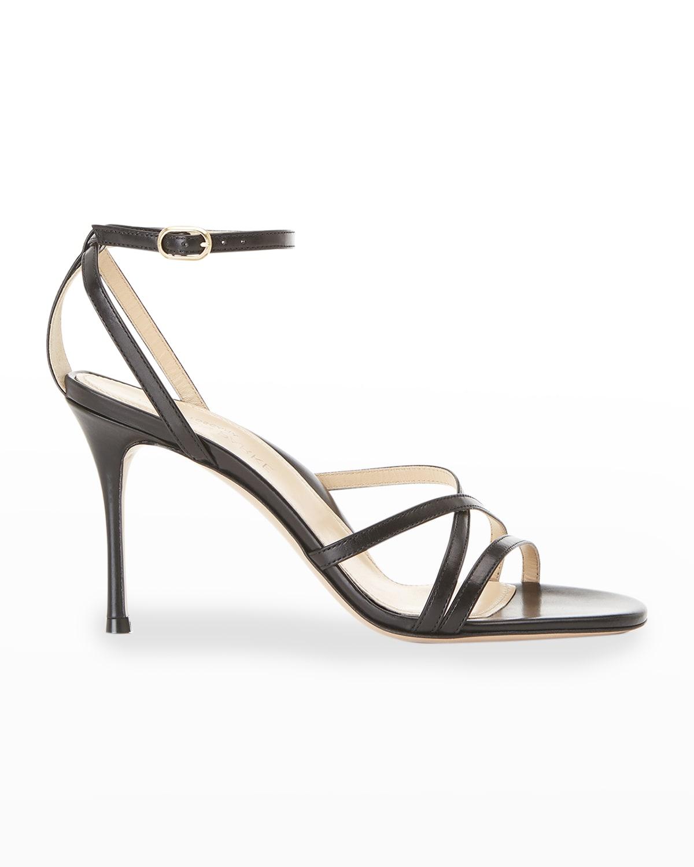 Lillian Strappy Evening High-Heel Sandals