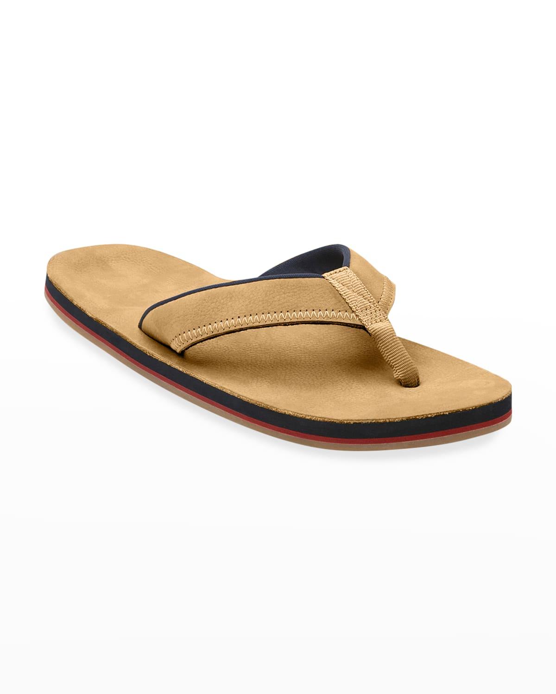 Men's Pier Leather Thong Sandals