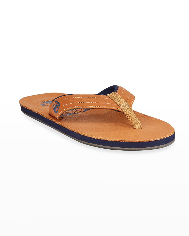 x Nokona Men's Leather Thong Sandals