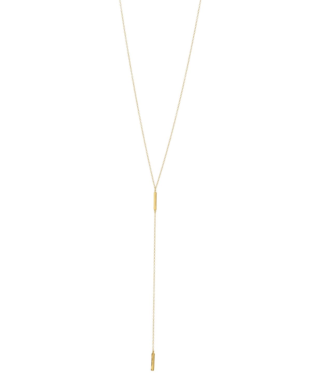 Taner Bar Short Lariat Necklace