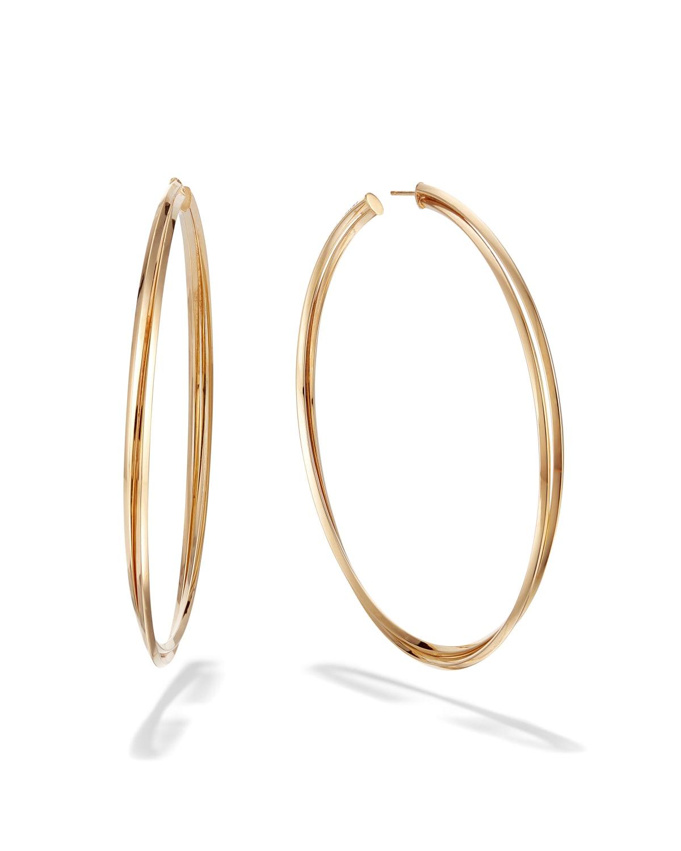 14k Royale Twist Hoop Earrings