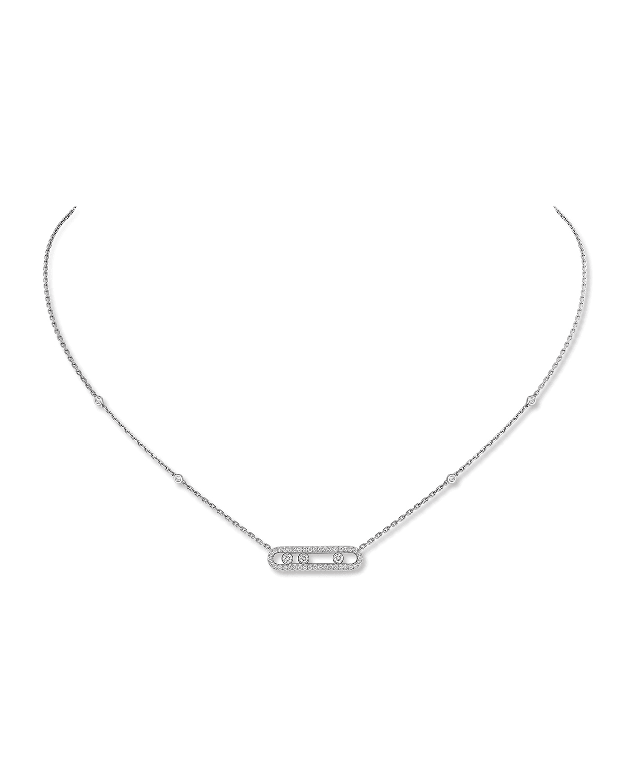 Baby Move Diamond Pave Necklace