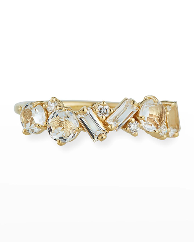 Bloom 14K Yellow Gold Amalfi Mix Ring