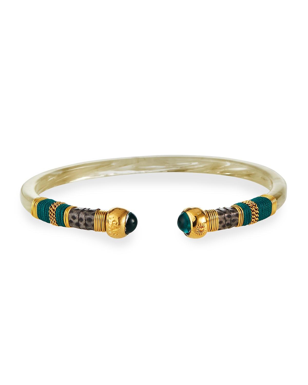 Sari Bangle Bracelet
