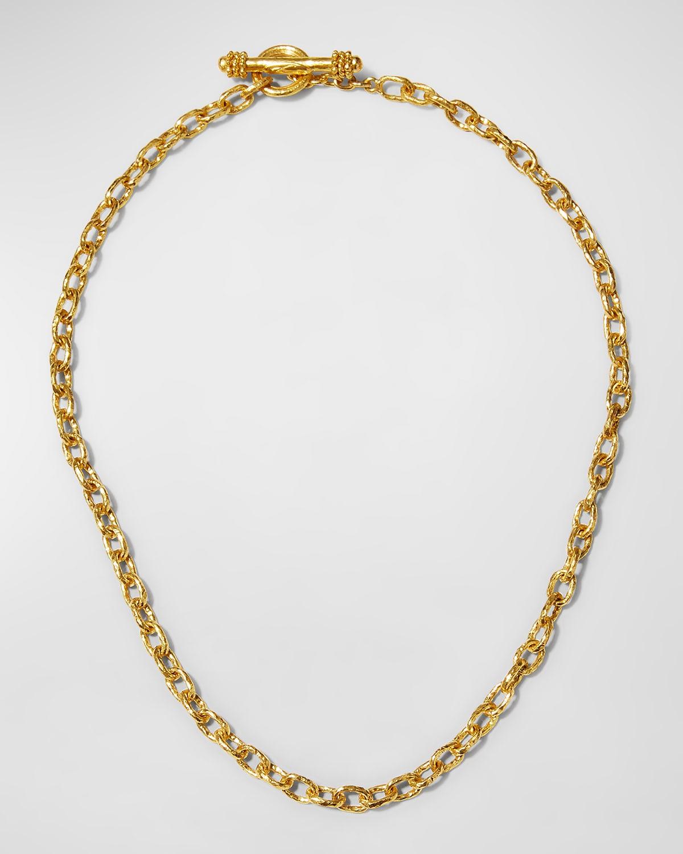 Orvieto 19k Gold Link Necklace