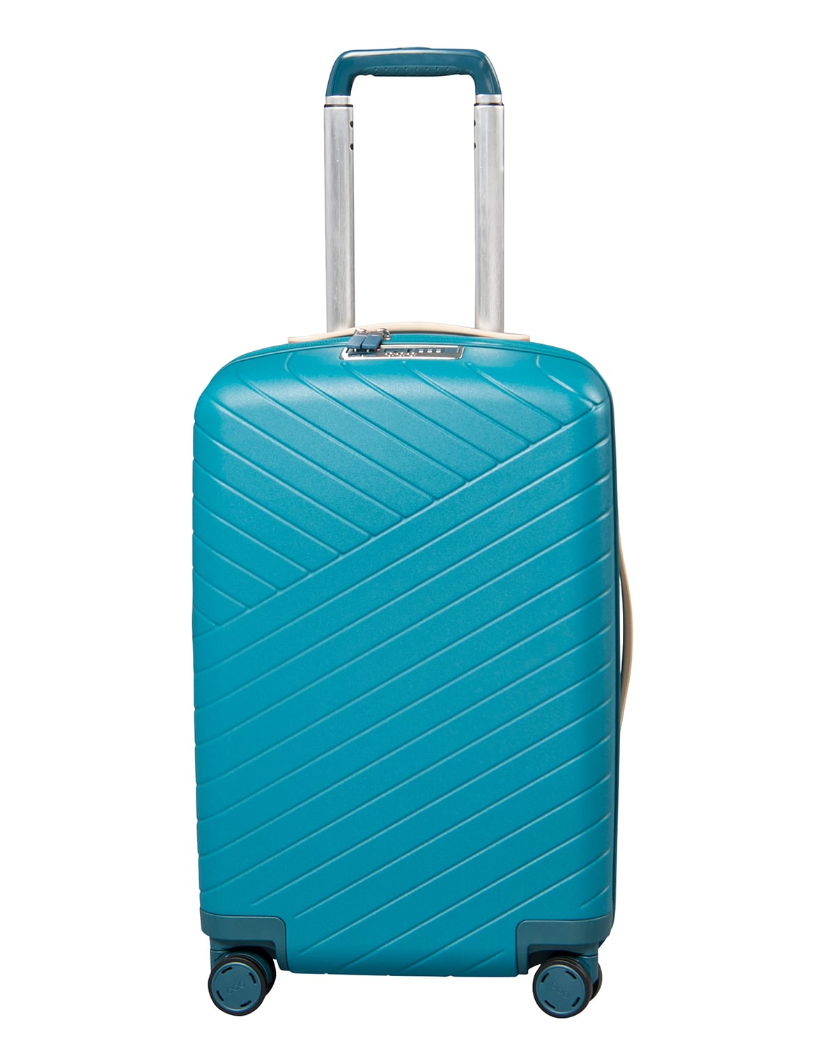 """Expandable 22"""" Carry-On Spinner Luggage w/ Removable Battery"""