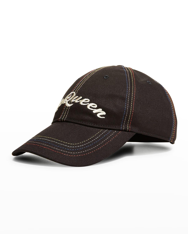 Men's Embroidered Logo Baseball Hat