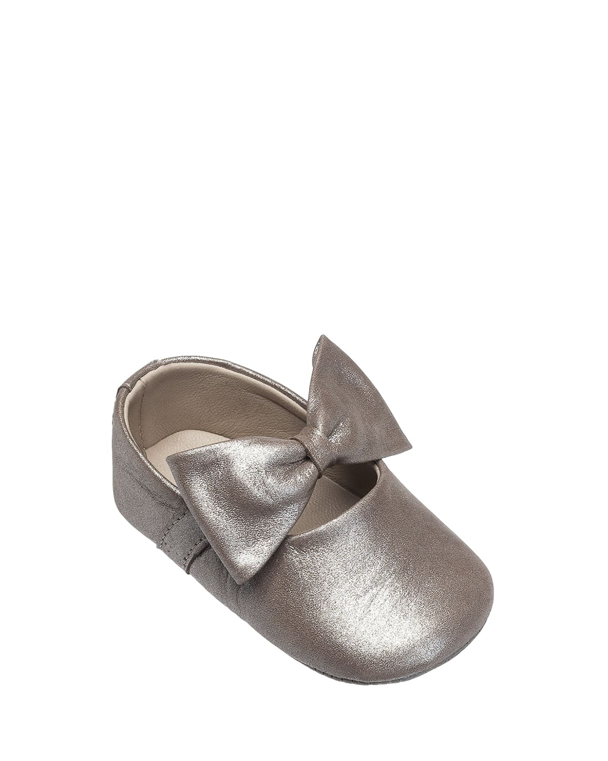 Leather Ballet Flat w/ Bow