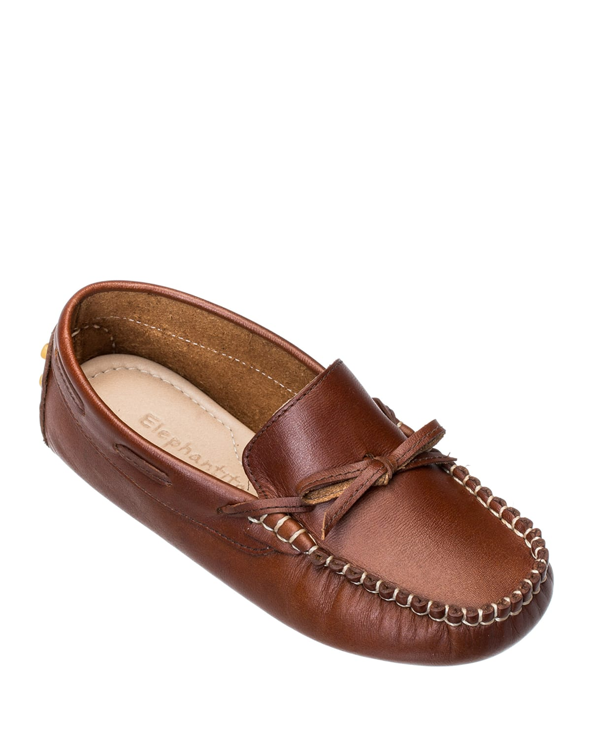 Leather Driver Loafers