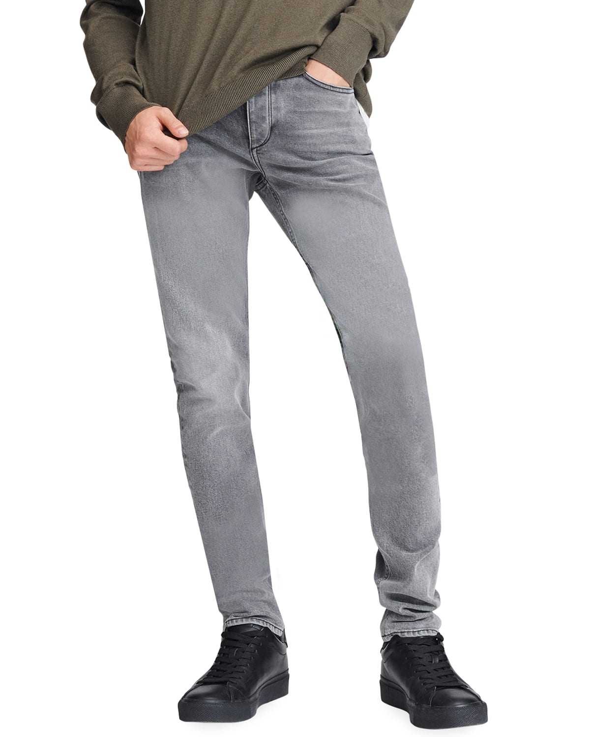 Men's Fit 2 Mid-Rise Relaxed Slim-Fit Jeans