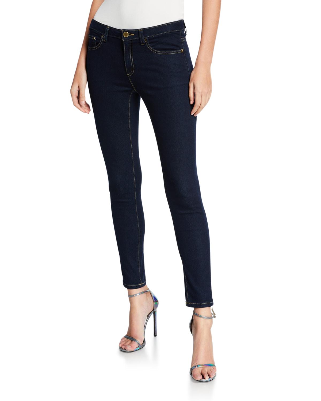 High-Waist Super Stretch Skinny Jeans