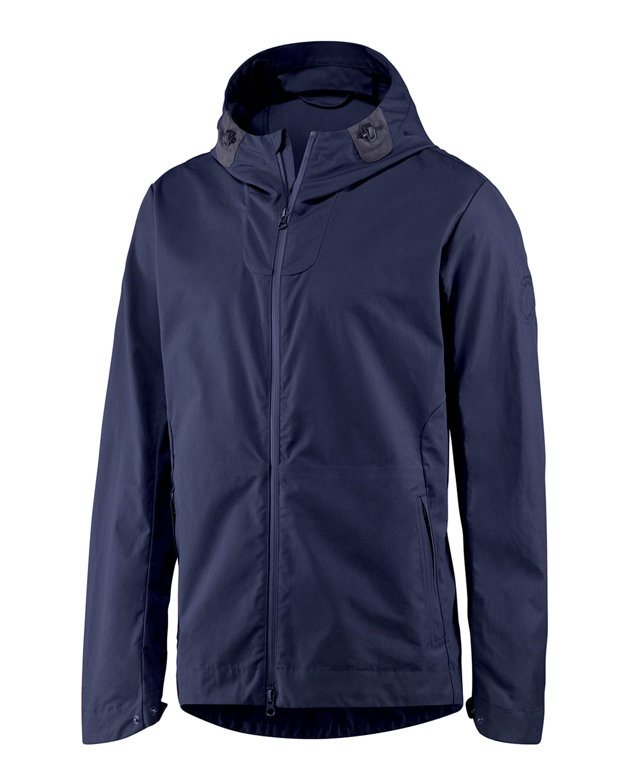 Men's Kensington Zip-Front Hooded Jacket