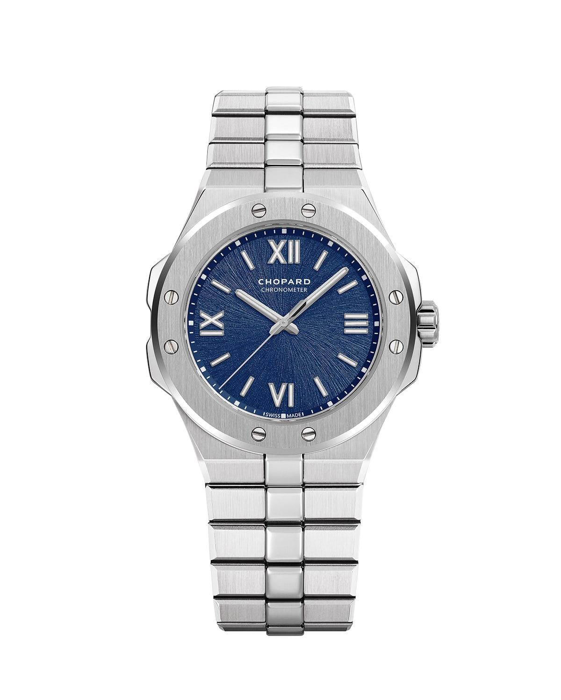 36mm Stainless Steel Watch w/ Bracelet Strap
