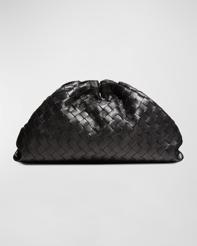 The Pouch Intrecciato Clutch Bag