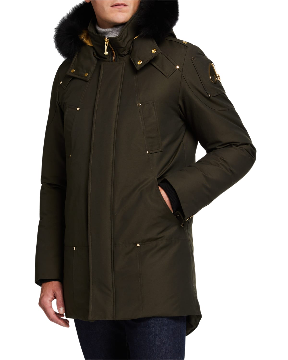 Men's Stag Lake Parka with Fur Hood