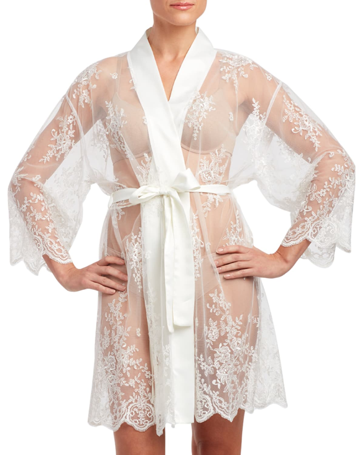 Darling Lace Coverup Robe