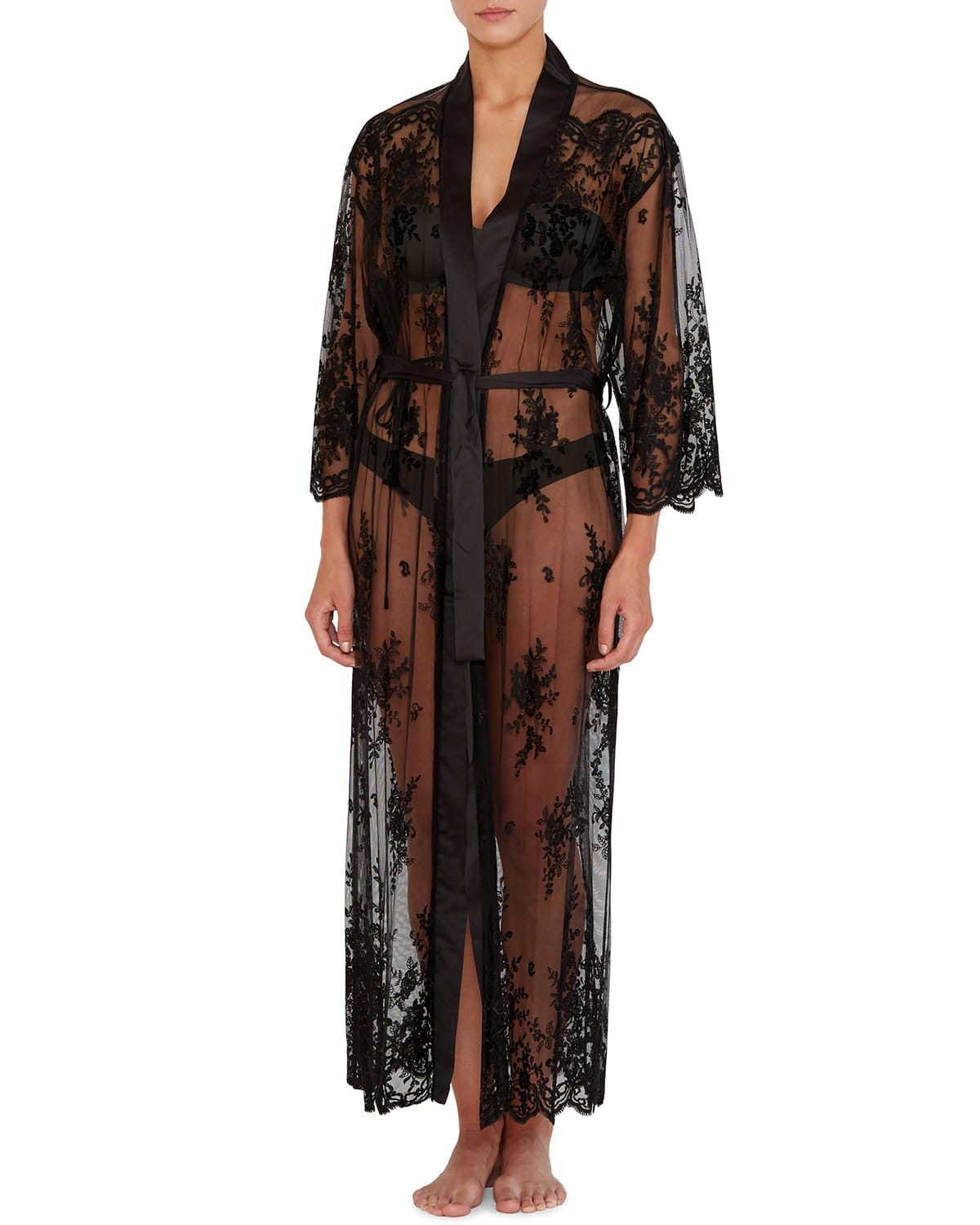 Darling Lace Robe