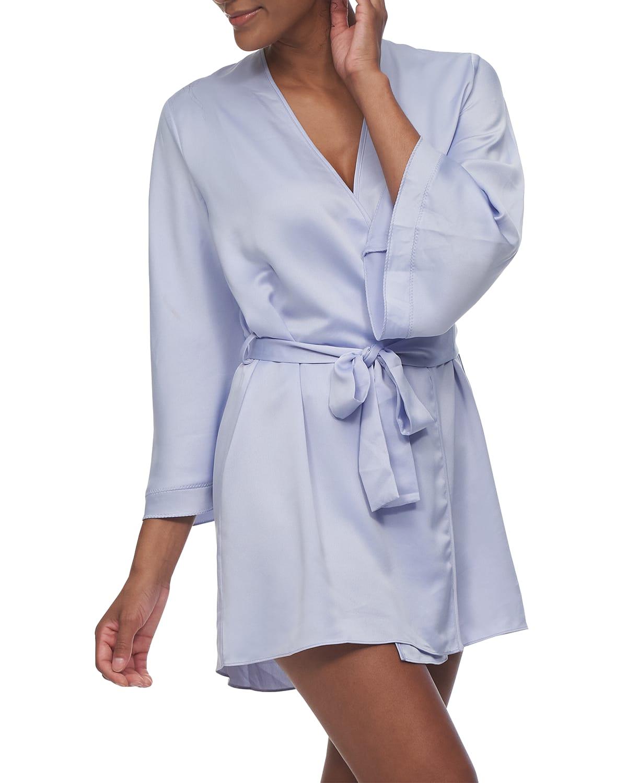 Heavenly Satin Coverup Robe