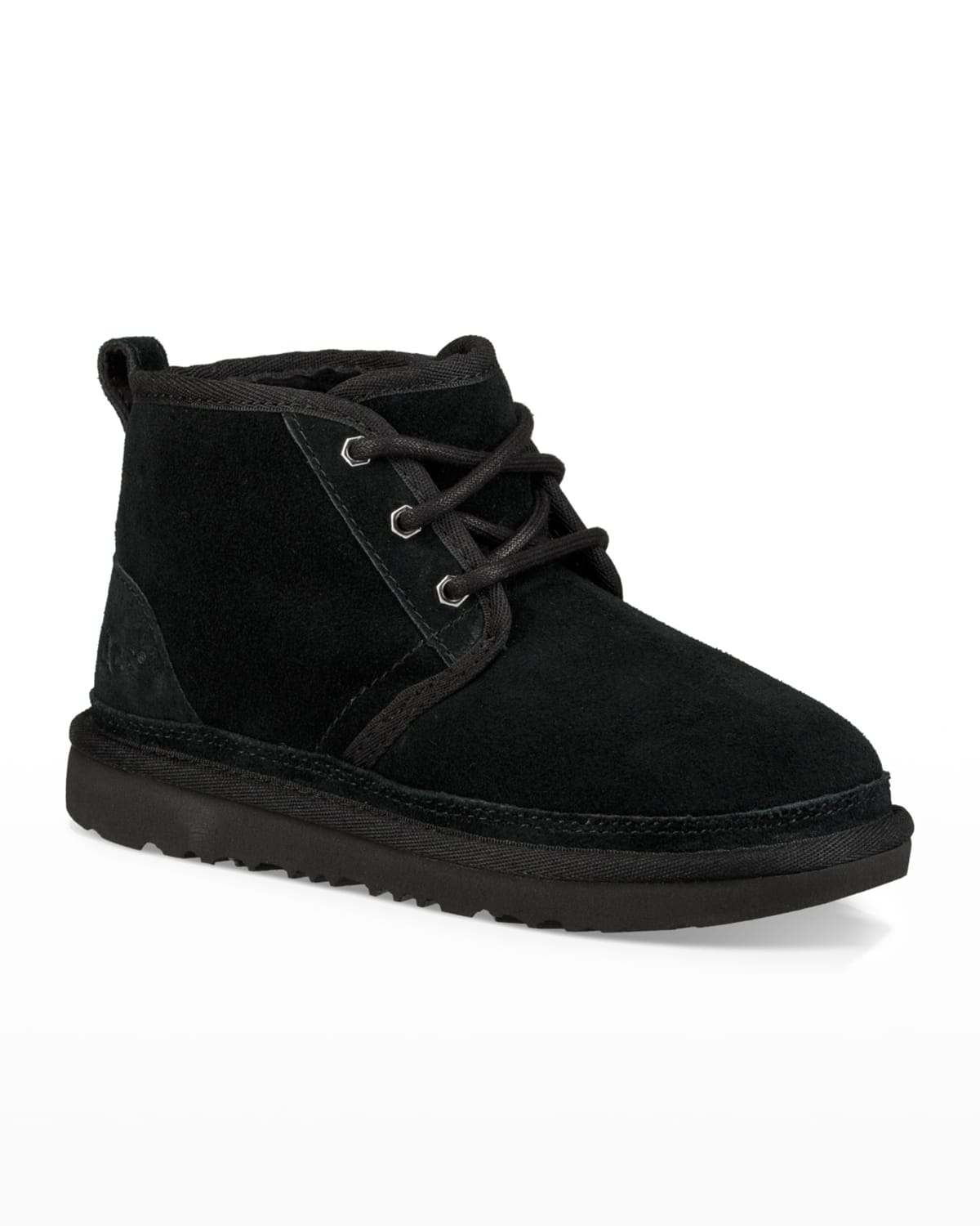 Neumel Suede Lace-Up Boots