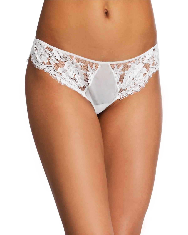 Lawinia Rose Lace Bikini Briefs