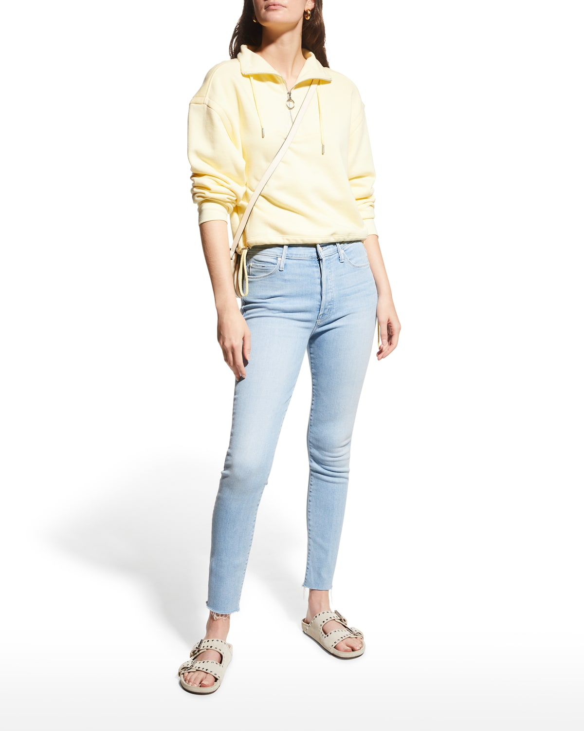 The Stunner Ankle Fray Skinny Jeans