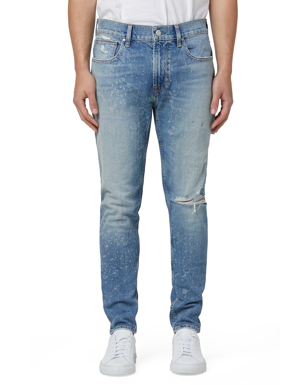 Men's Zack Skinny Denim Jeans (Zip Fly)
